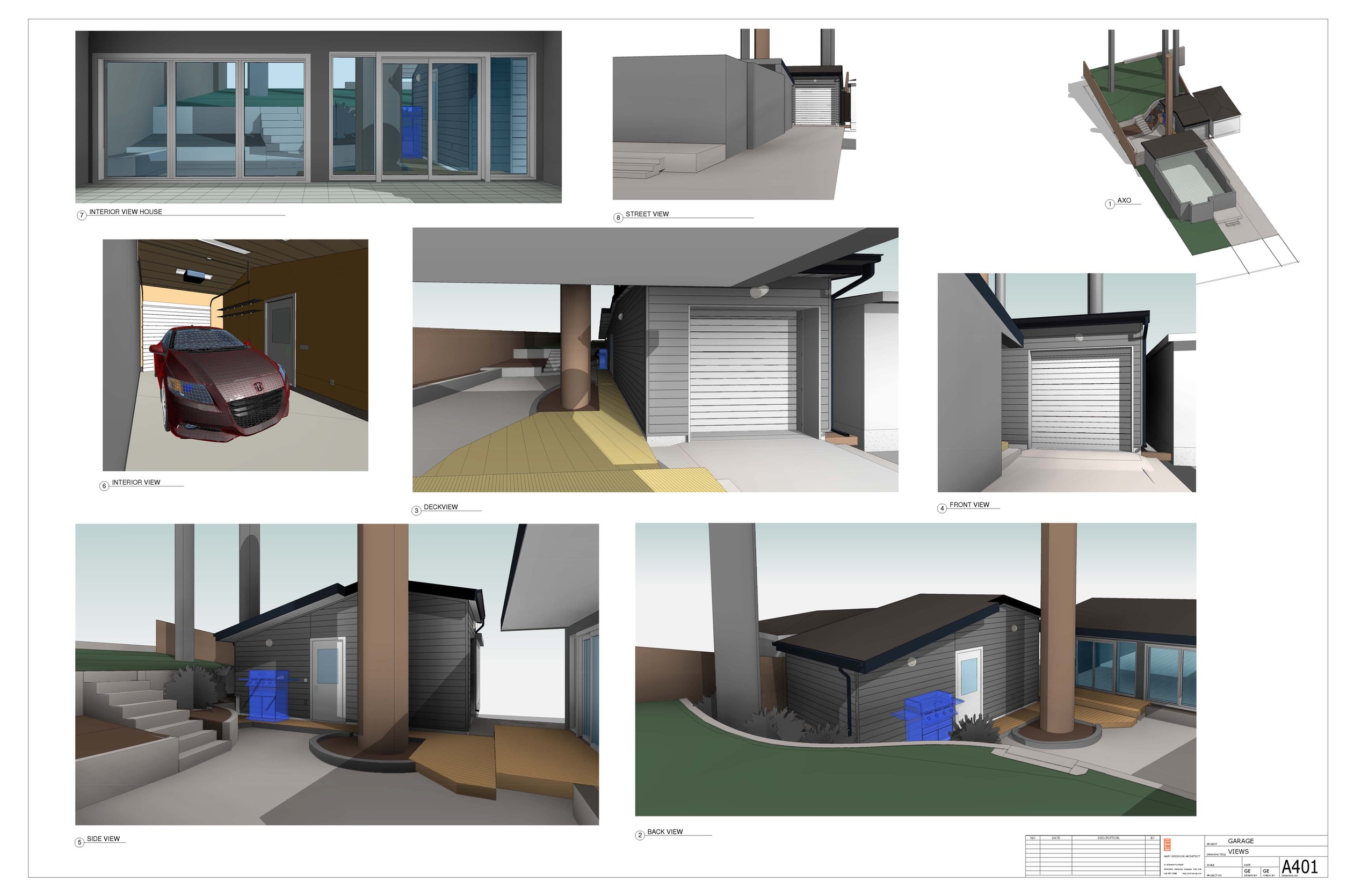 SAMPLES - REVIT BUILDING PERMIT DRAWINGS | ERICKSONG ARCHITECTS INC.